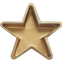 Gold Star Tray 11in