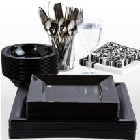 Black Premium Tableware