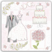 Sweet Romance Wedding Party Supplies