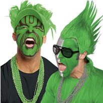 Green Fan Gear and Accessories