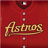 Houston Astros Party Supplies