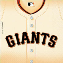 San Francisco Giants Party Supplies