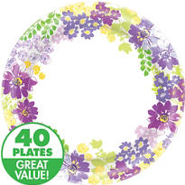 Floral Bloom Party Supplies