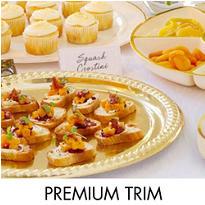 Premium Serving Trays, Bowls & Utensils