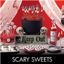 Scary Halloween Sweets & Treats