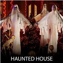 Haunted House Halloween Decorations
