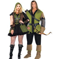 Plus Size Robin Hood Couples Costumes