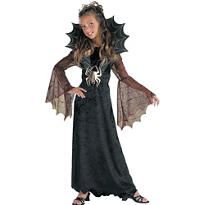 Girls Spider Countess Costume