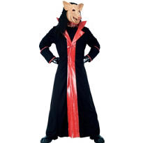 Adult Saw Pig Costume Deluxe