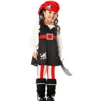 Toddler Girls Precious Pirate Costume
