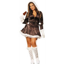 Adult Eskimo Cutie Costume Plus Size