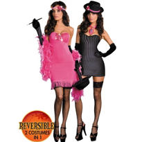 Adult Gangster to Gorgeous Quick Change Costume