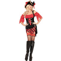 Adult Buccaneer Babe Sexy Pirate Costume