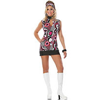 Adult That Girl Sexy Mod Costume