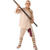 Boys Aang Costume Deluxe - The Last Airbender