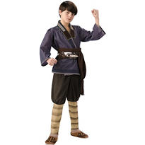 Boys Sokka Costume Deluxe - The Last Airbender