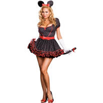 Adult Mousin' Around Mouse Costume Plus Size