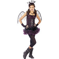Girls Night Wing Bat Costume