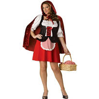 Adult Red Riding Hood Costume Plus Size Premier