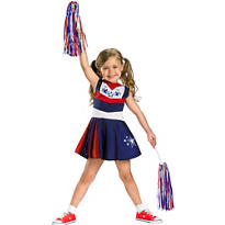 Toddler Girls Superstar Spirit Cheerleader Costume