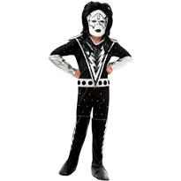 Boys Spaceman Costume Deluxe - Kiss