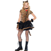 Teen Girls Wicked Wildcat Costume
