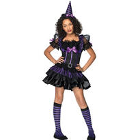 Teen Girls Spellcasting Sweetie Witch Costume