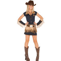 Teen Girls Quickdraw Cutie Cowgirl Costume
