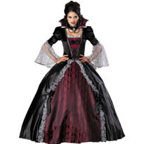 Adult Vampiress of Versailles Costume Elite