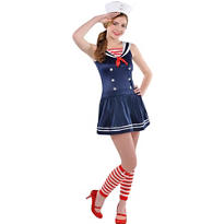 Teen Girls Sweetie Sailor Costume