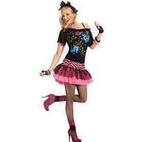 Adult Awesome 80s Pop Star Costume