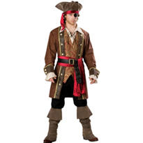 Adult Captain Skullduggery Costume Elite