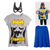 Batgirl Costume Kit