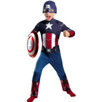 Boys Classic Captain America Costume - The Avengers