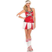 Adult Miami Heat Cheerleader Costume