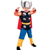 Toddler Boys Thor Muscle Costume