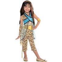 Girls Cleo De Nile Costume Deluxe - Monster High