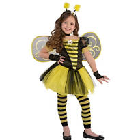 Girls Totally Bumble Bee Costume