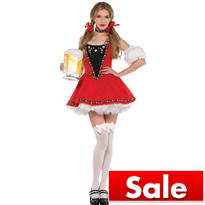 Adult Sexy Swiss Milkmaid Costume