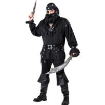 Adult Plundering Pirate Costume Plus Size