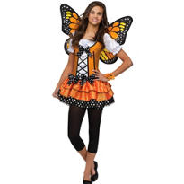 Teen Girls Butterfly Queen Costume