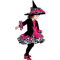 Toddler Girls Janie The Witch Costume Deluxe