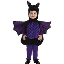 Toddler Plush Belly Bat Costume