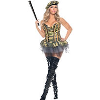 Adult Commando Costume Plus Size