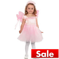 Girls Pink Jacqueline Butterfly Fairy Costume