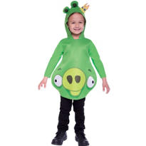 Toddler Boys King Pig Costume - Angry Birds