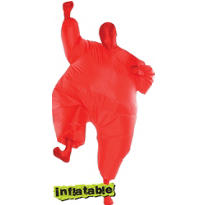 Adult Red Inflatable Morphsuit