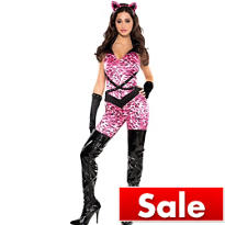 Adult Bad Kitty Costume - Cat