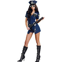 Adult Officer Sheila B Naughty Costume