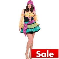 Adult Mystical Gypsy Costume Plus Size